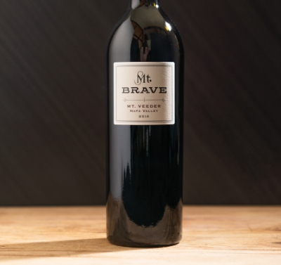 2016 Mt. Brave Cabernet Sauvignon Label Shot